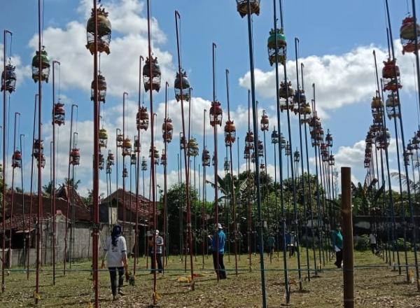 jelang lebaran 1442 h kutut manggung bareng dilomba sidomoyo sleman