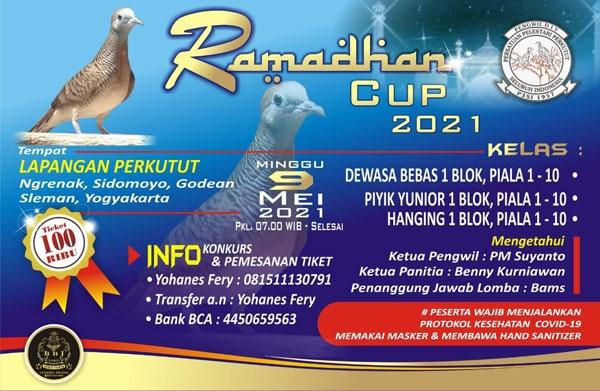 Ramadan Cup  Perkutut  9 Mei 2021 Di Godean Sleman